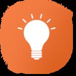 Orange explainer logo